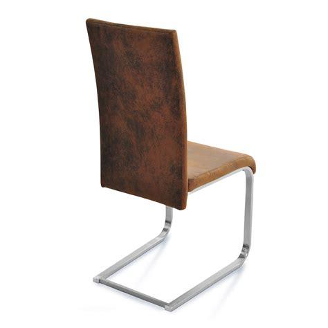 stuhl sam sam 174 freischwinger stuhl ausstellungsst 252 ck zum halben