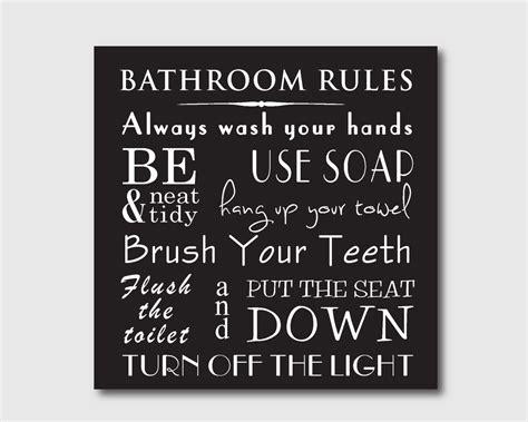 bathroom rules art 9 best images of vintage bathroom art printables