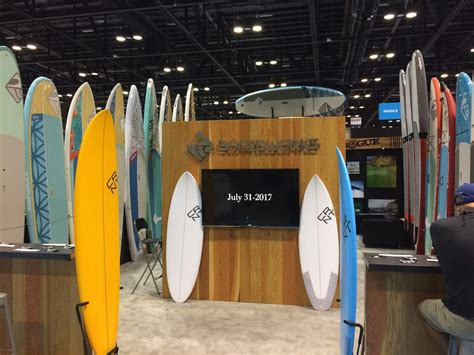 Booth Wedges Versace 918 hurricane irma reduces surf expo from 4 days to 2 report images boardsport source