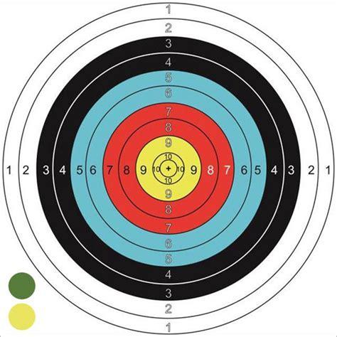 l target cheap paper archery targets
