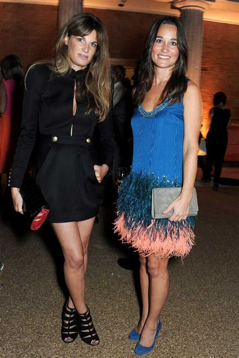Jemima Khan Vanity Fair by Pippa Middleton Wears Feathers To With Jemima Khan