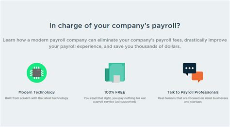 visage payroll free payroll tool for small businesses