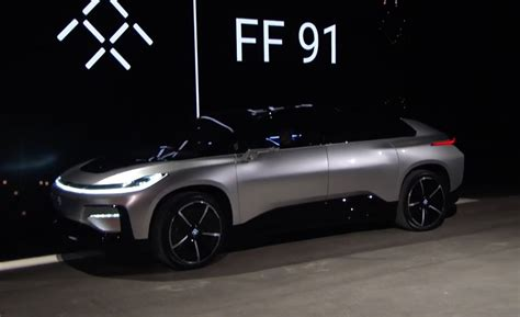 in car meet the ff 91 the world s most technologically advanced car