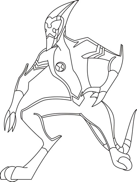 ben ten coloring pages ben 10 free colouring pages