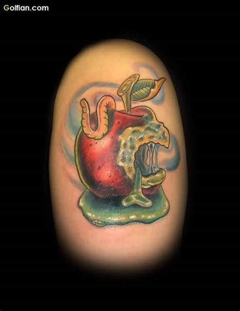 rotten tattoo 90 most amazing apple designs apple tattoos
