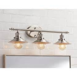 Home Decorators Lamps Retro Vanity Light Brushed Nickel Vintage Above Mirror 3