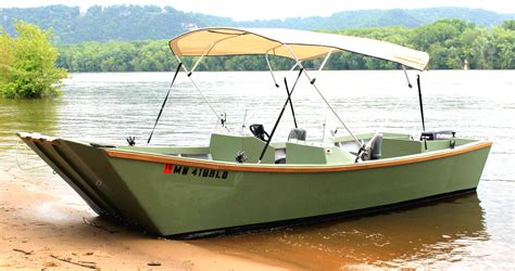 build wooden fishing boat easy to build garvey wood boat plans survivalist