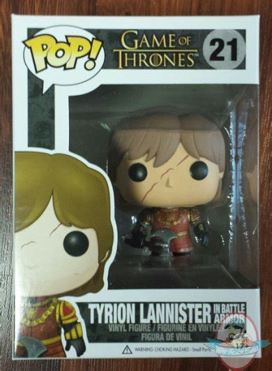 Funko Of Thrones Tyrion Battle Axe pop of thrones series 3 tyrion lannister in battle