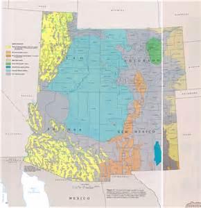 arizona water table map ha 730 c regional summary major aquifers and aquifer systems