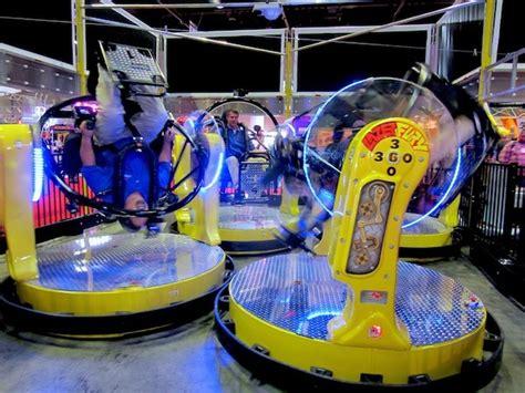 upside  bumper cars park world  theme park