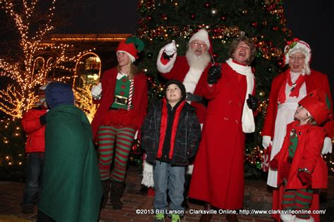 tree lighting ceremony in clarksville tn clarksville tree lighting ceremony discover clarksville tn