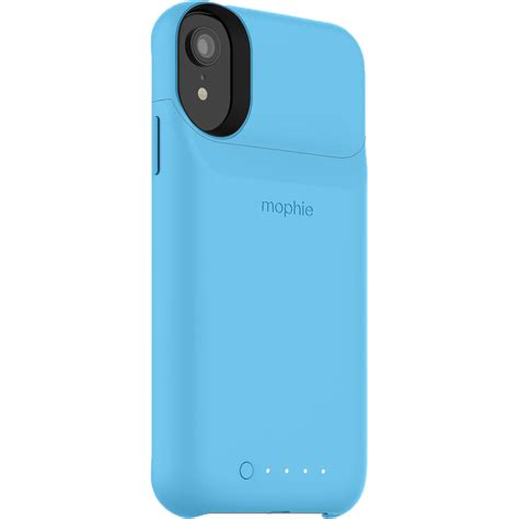 mophie juice pack access for iphone xr blue 401002822 b h