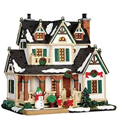 lemax christmas village lighted westfield house amazon