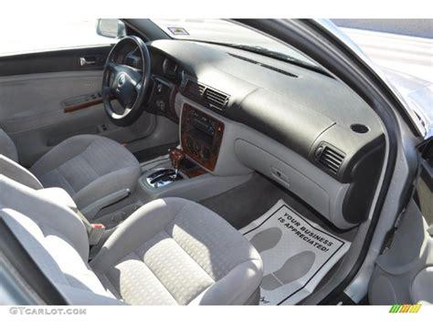 2002 Passat Interior by Grey Interior 2002 Volkswagen Passat Gls V6 Wagon Photo