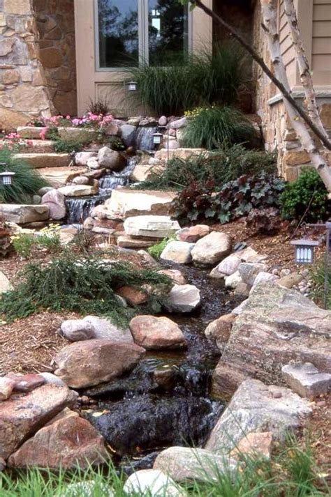 backyard stream ideas backyard stream gardening pinterest