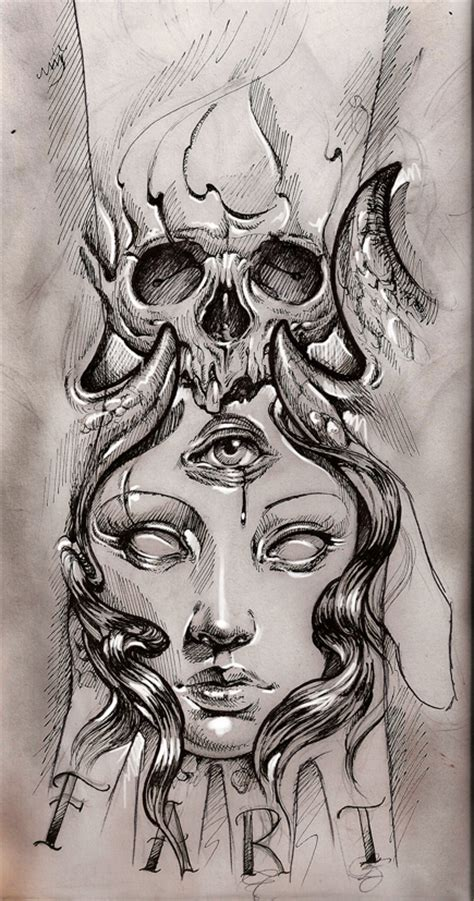 tattoo sketch by bhbettie on deviantart