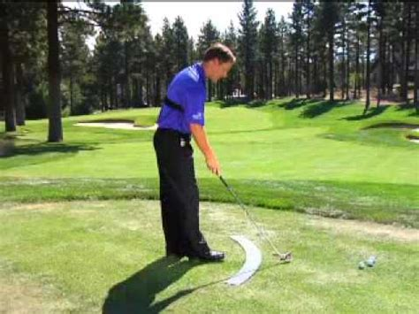pure swing golf training aid scott mccarron pga tour using athletic golf swing s pure