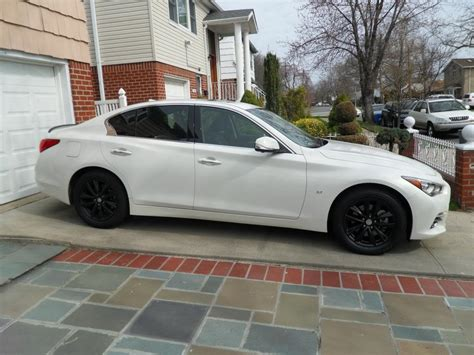 infiniti q50 blacked out blacked out grill rims infiniti q50 forum