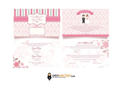 Wedding Card Design Vector by Wedding Card Design Vector Vectorpic