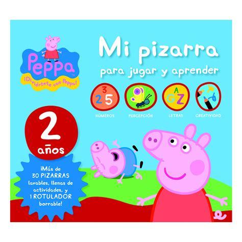 libro jugar y aprender con peppa pig mi pizarra para jugar y aprender 2 a 241 os colectivo libros el corte ingl 233 s