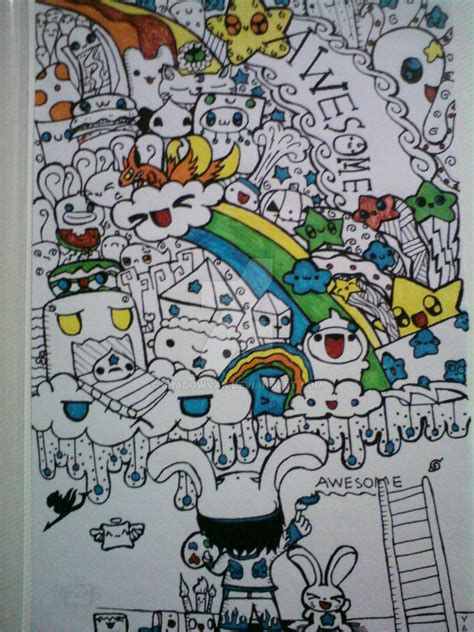 doodle wall doodle wall on paper by shadowvan on deviantart