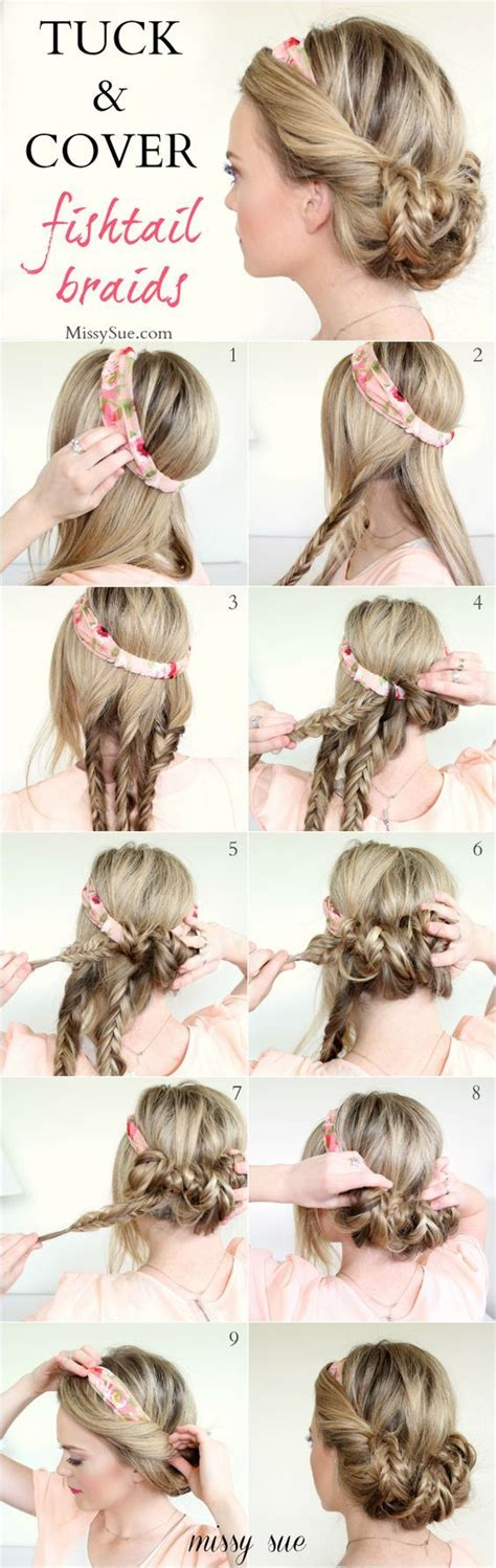 20 simple and easy hairstyles for your daily look pretty 20 easy hairstyle tutorials for your everyday look updo