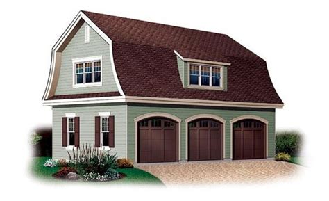 barn style garage with apartment plans garage plan 64821 french gambrel and squares