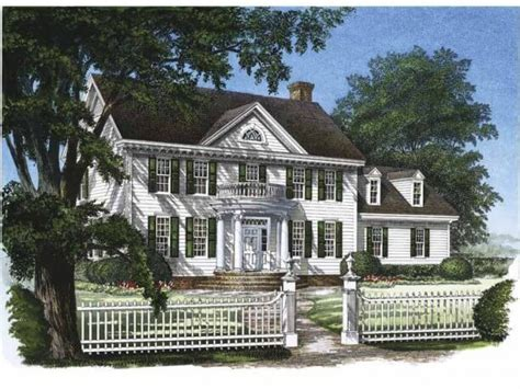 georgian style home plans floorplan of the month american colonial georgian style hibbs homes