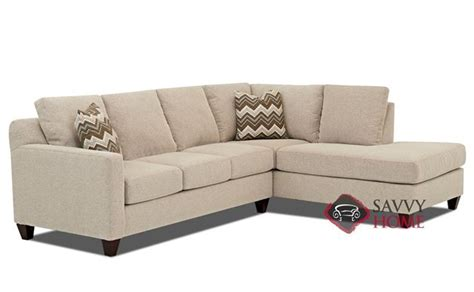 burbank sofa burbank fabric chaise sectional by savvy is fully