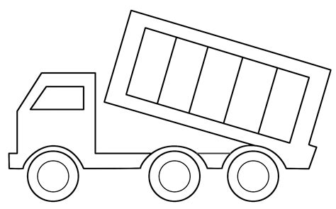 truck template how to make a dump truck flannel board moline