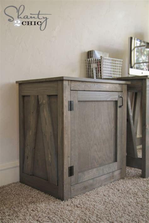 woodworking plans diy desk  nightstand