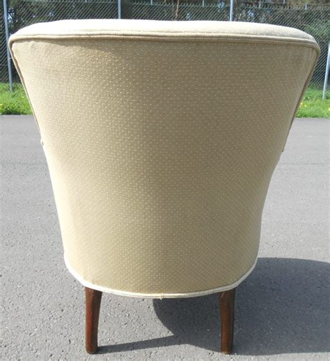 Tub Armchair Upholstered Small Tub Armchair