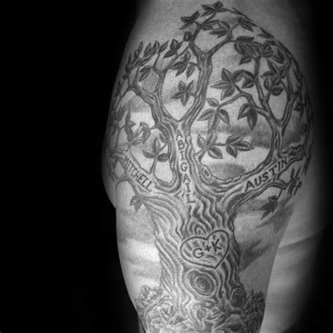 60 193 rbol en dise 241 os de tatuajes para los hombres ideas