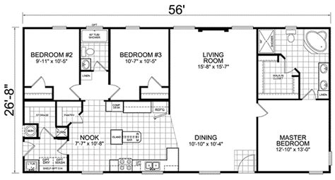 trailer house floor plans tips to choose the right house trailer floor plans home