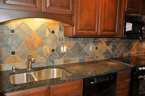 kitchen countertop and backsplash ideas granite countertops and tile backsplash ideas eclectic