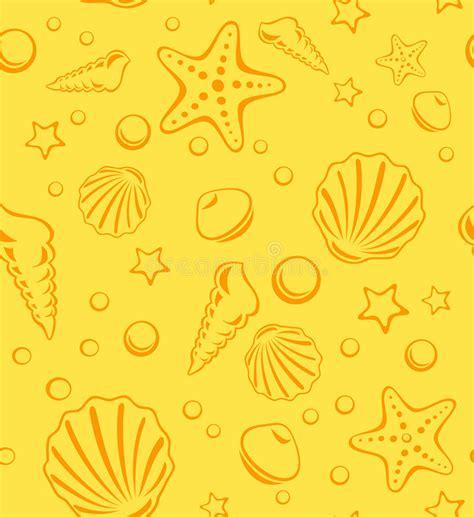 pattern heat vector seamless beach vector pattern stock vector illustration