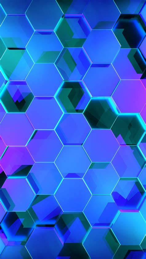 wallpaper geometry hexagon colors   abstract