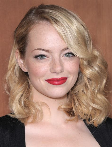 emma stone blonde hair 2014 emma stone haircut and hairstyle styloss com