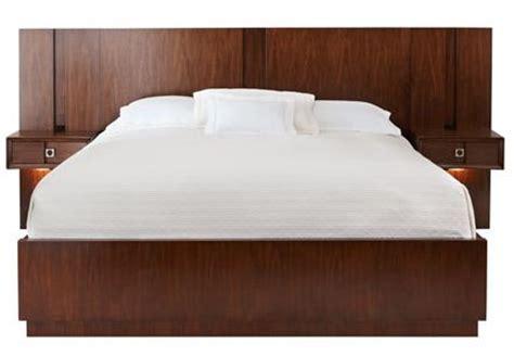 headboard nightstand combo the chic ventura platform bed and pier nightstand combo