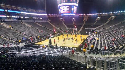 what is section 16 100 level baseline sprint center basketball seating
