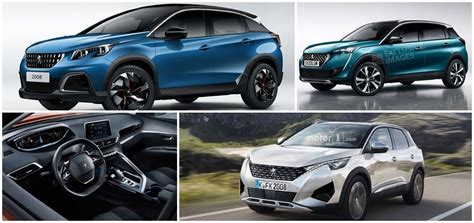 peugeot current models 2019 peugeot 2008 will be bigger and lighter than the