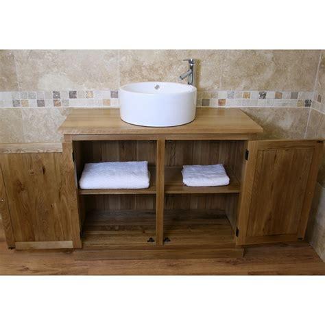 Free Standing Vanity Atla Free Standing Oak Bathroom Vanity Unit Click Oak