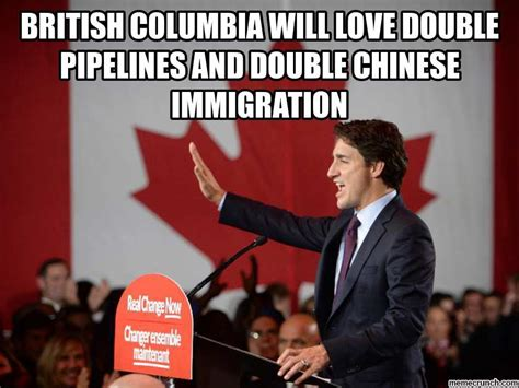justin trudeau british columbia double trouble