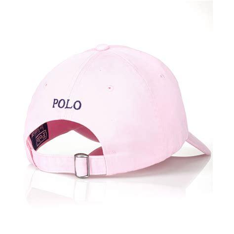 light pink polo baseball cap ralph lauren polo cap polo ralph lauren black polo player