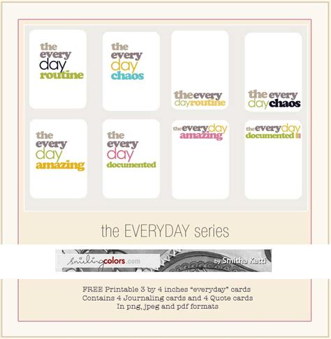 card freebies everyday printable cards smiling colors