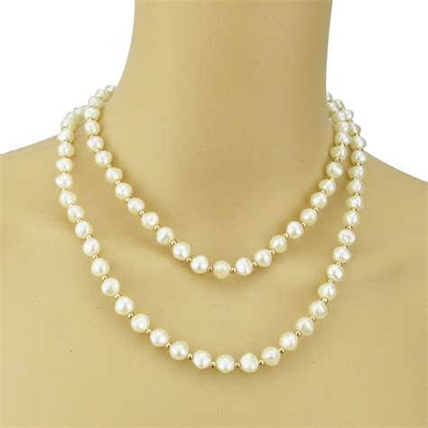 Choker Pearl Gold Chain Layered Choker pearl necklace two layered pearl choker white pearl neckless gold plated bead necklaces