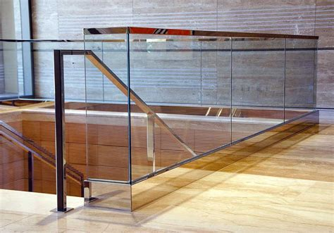 glass banister uk glass balustrades idsystems
