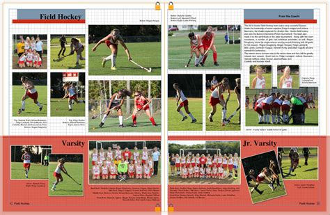 yearbook layout ideas for sports our work yearbook club