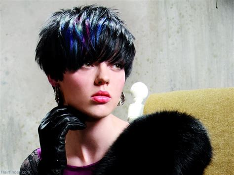 hair cut hair streax with hair short hairstyles with streaks hairstyles