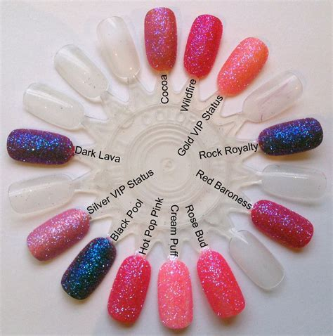 color changing shellac irresistible pink chagne iridescent colour changing